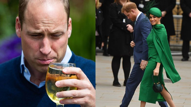 """Książę Harry """"wku*wił się"""" na brata, bo nazwał Meghan """"tą dziewczyną""""! """"William powiedział mu, że myli pożądanie z miłością"""""""