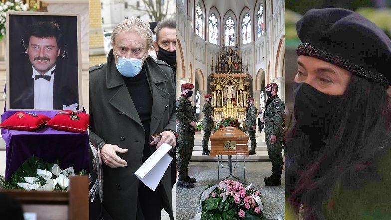 Pogrzeb Krzysztofa Krawczyka: tłumy przed kościołem, warta honorowa i wystąpienie Daniela Olbrychskiego (ZDJĘCIA)