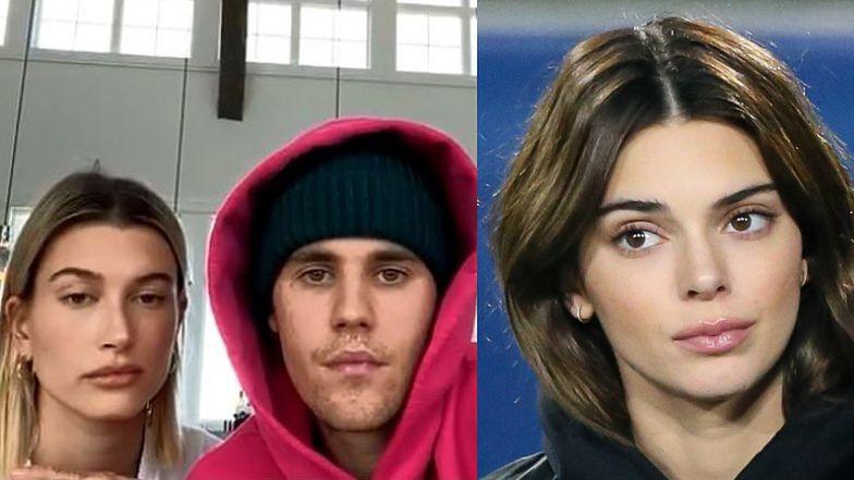 """Kendall Jenner do Justina Biebera i Hailey: """"Szczerze? Nie sądziłam, że będziecie razem"""""""