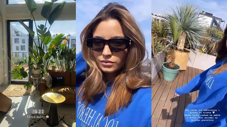 Julia Wieniawa chwali się kolekcją egzotycznych roślin. Namiastka raju sporo kosztuje