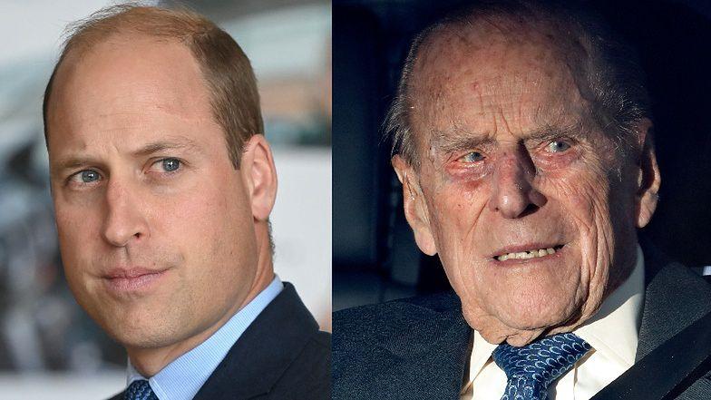 Książę William informuje o stanie zdrowia księcia Filipa