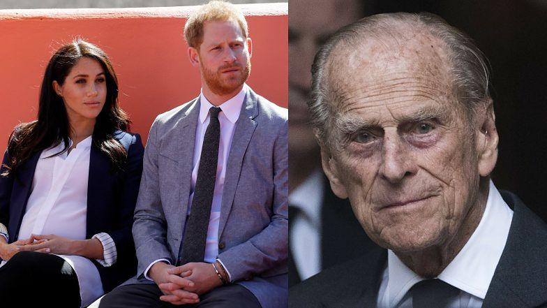 Meghan Markle i Harry reagują na śmierć księcia Filipa. Póki co tylko w internecie...