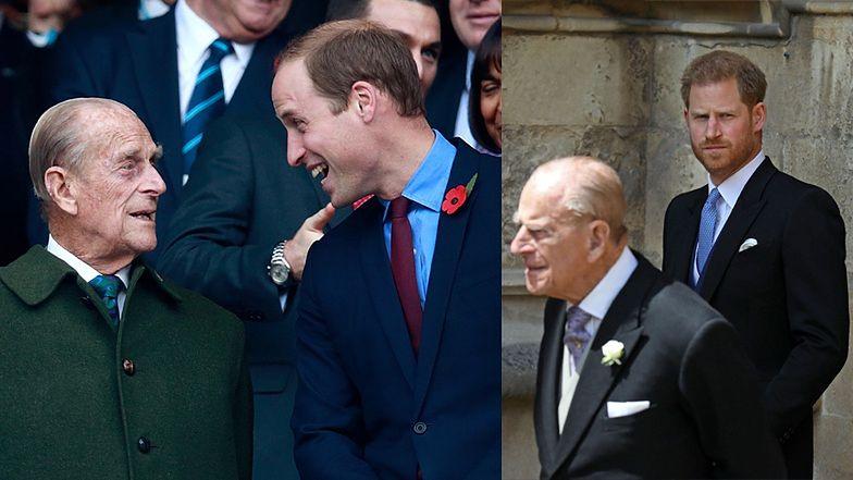 Książę William żegna księcia Filipa wzruszającym wpisem i... WBIJA SZPILĘ Harry'emu?