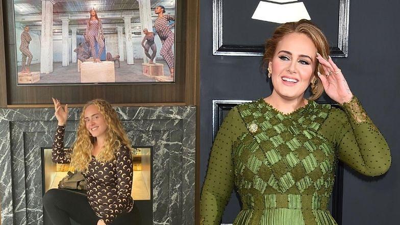 """Odmieniona Adele i jej BURZA LOKÓW zachwalają nowy klip Beyonce. Fani dopytują: """"Czy to w ogóle ty?"""" (FOTO)"""