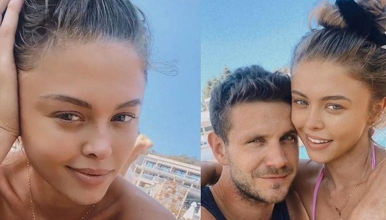 Zrelaksowana Joanna Opozda w bikini pozdrawia z GORĄCYCH wakacji z Antkiem Królikowskim  (FOTO)