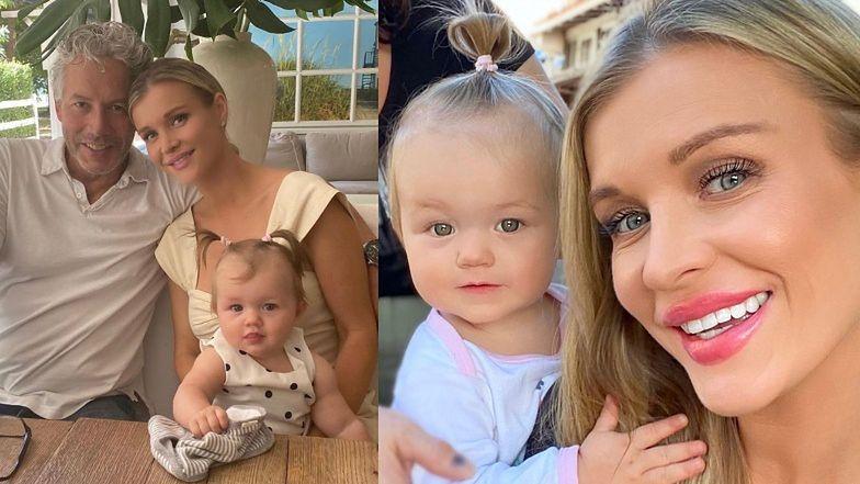 """Joanna Krupa uczy córkę polskiego: """"Chciałabym, żeby swobodnie rozmawiała z ludźmi"""""""