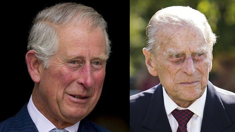 """Książę Karol składa hołd """"drogiemu tacie'' księciu Filipowi. """"OGROMNIE TĘSKNIĘ ZA MOIM OJCEM"""""""