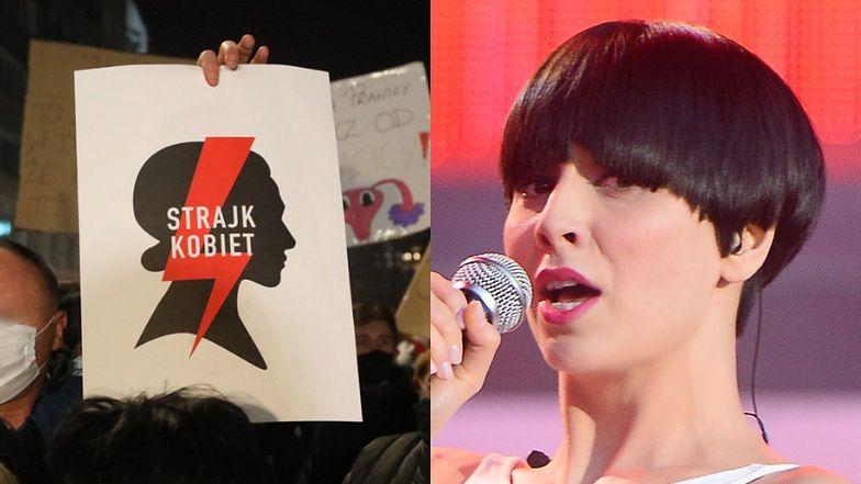 """Tatiana Okupnik wspiera Strajk Kobiet i grzmi: """"Jak to możliwe, że MĘŻCZYZNA decyduje o moim potomstwie, A NIE JA?"""""""