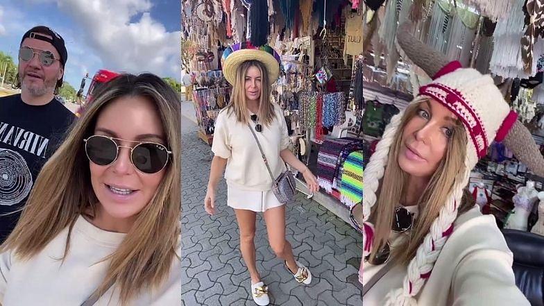 """Małgorzata Rozenek buszuje z Radosławem po meksykańskich sklepach: """"Kupujemy NAJPOTRZEBNIEJSZE rzeczy"""""""