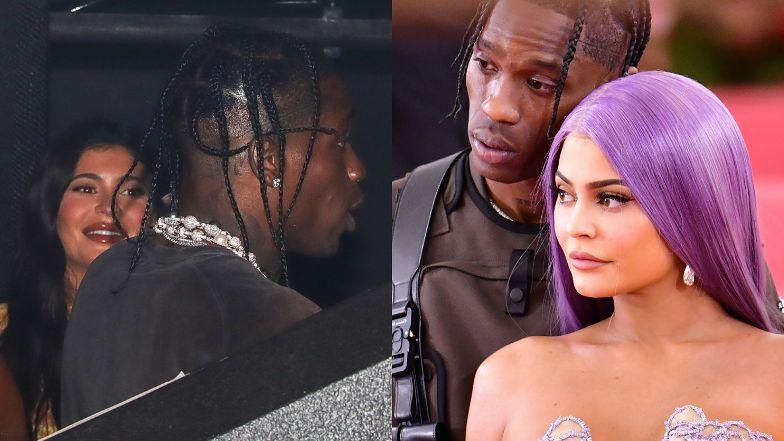 """Kylie Jenner i Travis Scott jednak WRÓCILI DO SIEBIE? """"Flirtowali i wyglądali na szczęśliwych"""" (ZDJĘCIA)"""