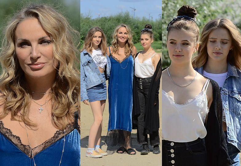 """""""Żona Hollywood"""" Eva Halina Rich promuje swoje 15-letnie córki w Dzień Dobry TVN"""