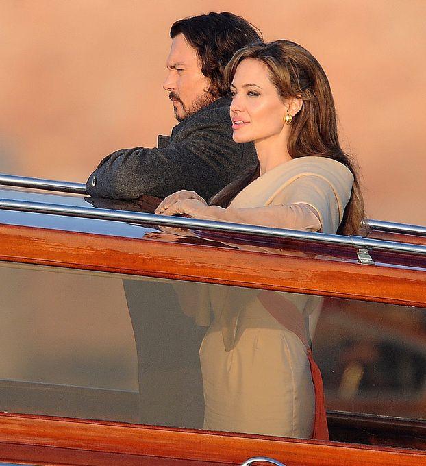 Angelina Jolie i Johnny Depp W WENECJI!
