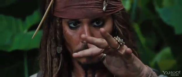 """Nowy zwiastun """"Piratów z Karaibów 4""""! (ZOBACZ!)"""