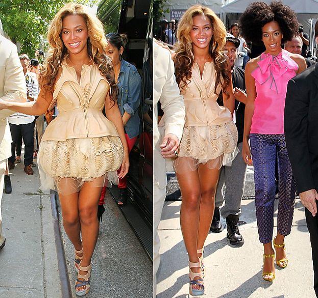 Gdzie jest brzuszek Beyonce? (ZDJĘCIA)