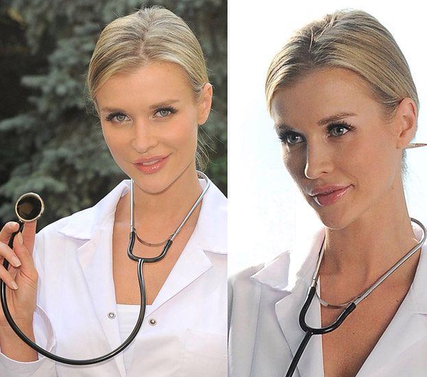 Krupa ZNOWU jako pielęgniarka! (ZDJĘCIA Z PLANU)