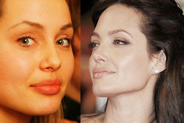 Rosyjska modelka czy Angelina Jolie?