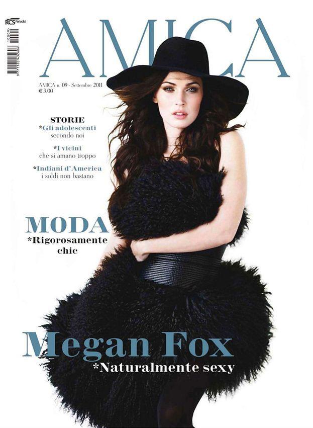 Megan Fox w męskiej koszuli