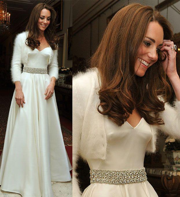 DRUGA SUKNIA ŚLUBNA Kate Middleton! (ZDJĘCIA)
