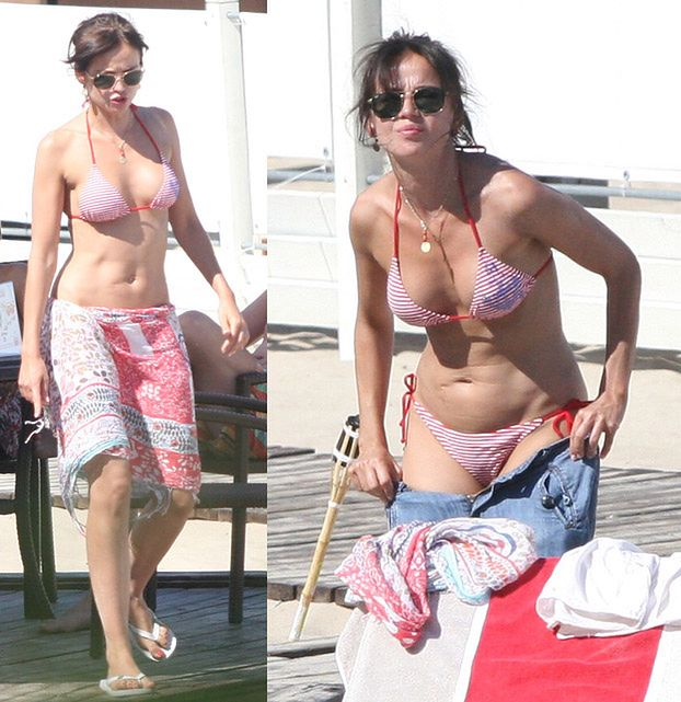 Naturalna Przybylska w bikini! (ZDJĘCIA)