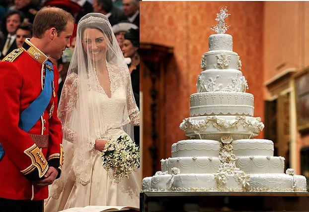 Weselny tort Kate i Williama! (ZDJĘCIA)