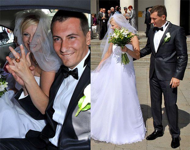 Zobacz, jak wyglądał ślub Marty Szulawiak! (ZDJĘCIA)