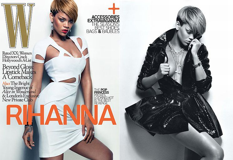 Półnaga Rihanna!