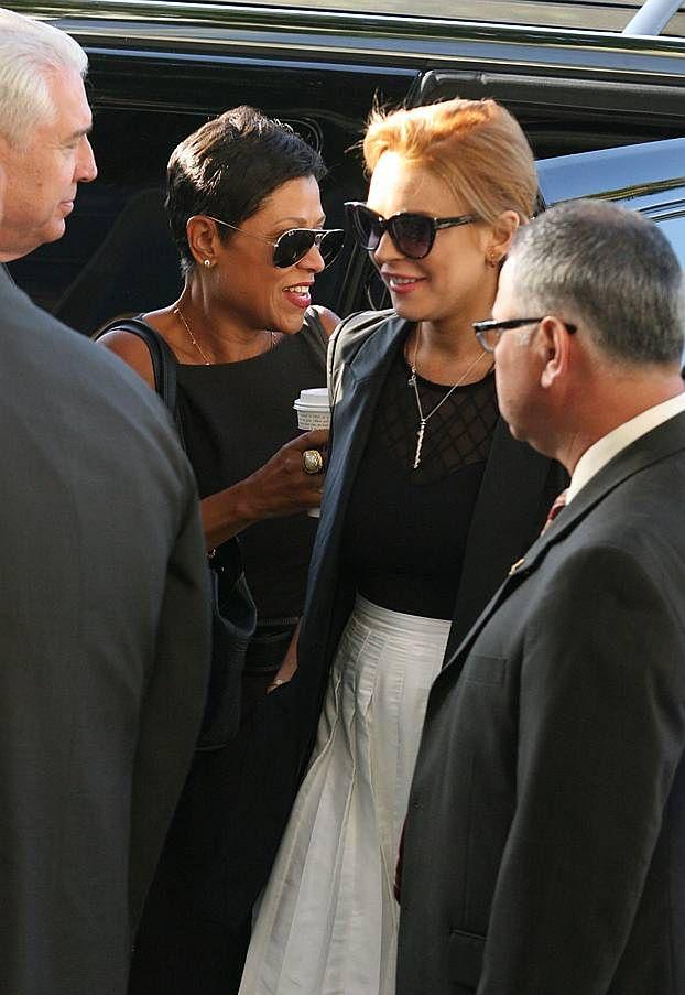 Lohan trafiła do więzienia i... już z niego wyszła!