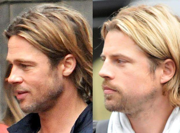 Dubler Brada Pitta! PODOBNY? (ZDJĘCIA)