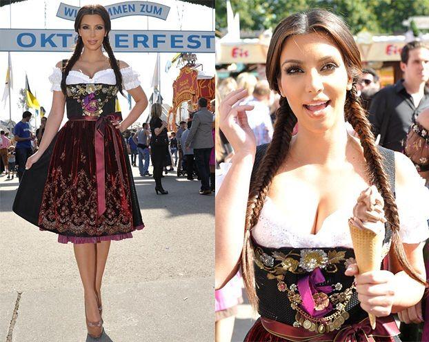 Kim Kardashian na Oktoberfest! (ZDJĘCIA)