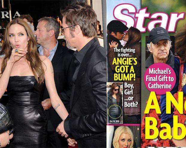 """Angelina: """"Nie jestem w ciąży!"""""""