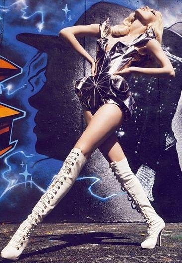 "Lady GaGa inspiruje... ""Vogue'a""!"