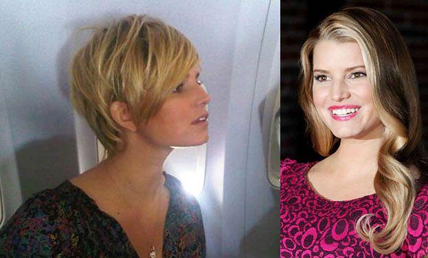 Jessica Simpson obcięła włosy!
