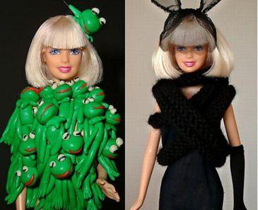 Lady GaGa jako... LALKA BARBIE!