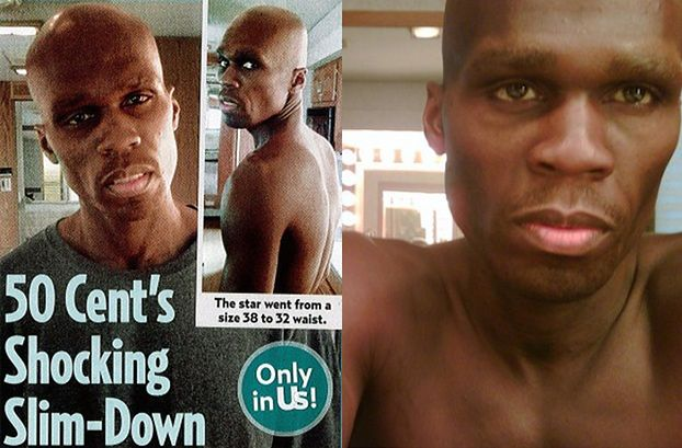 50 Cent schudł... 25 kilo! (POZNAJECIE?)