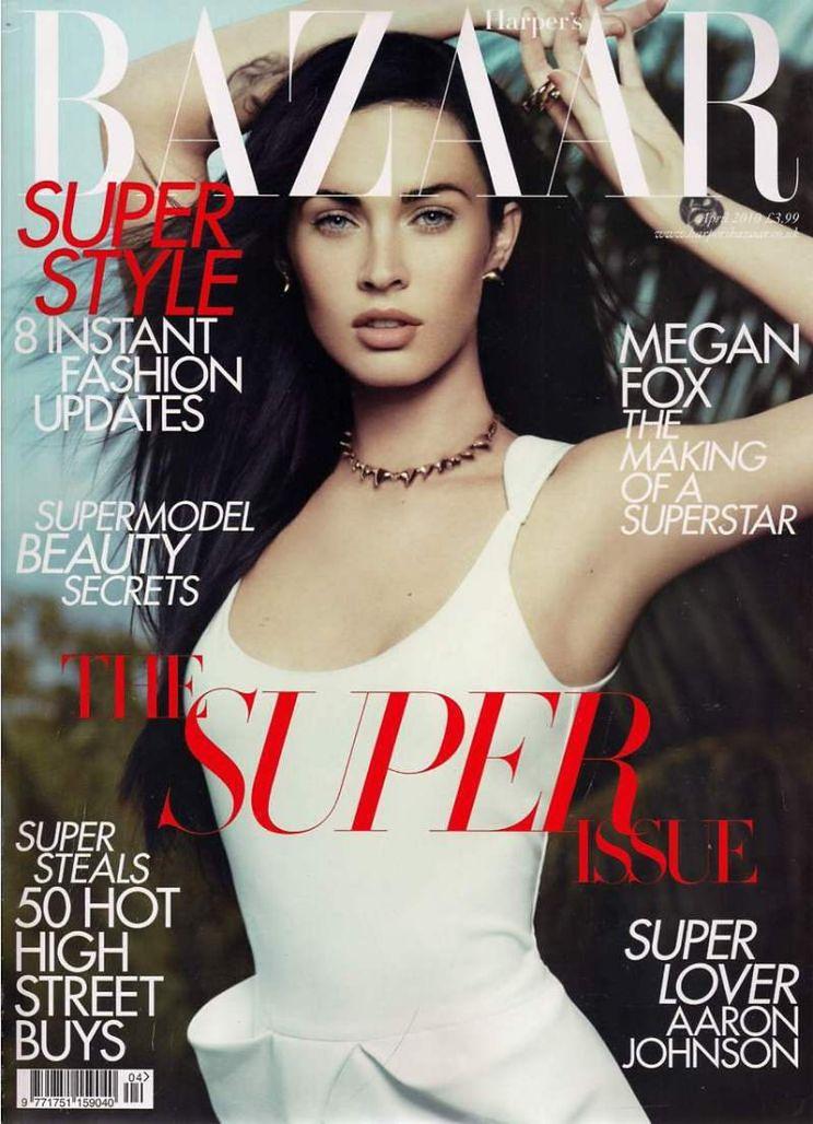 """Grzeczna Megan w """"Harper's Bazaar"""""""