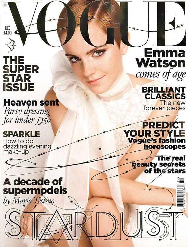 """Emma Watson na okładce """"Vogue'a""""!"""