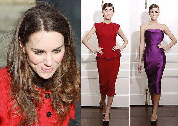 Kate Middleton będzie nosić suknie Beckham!