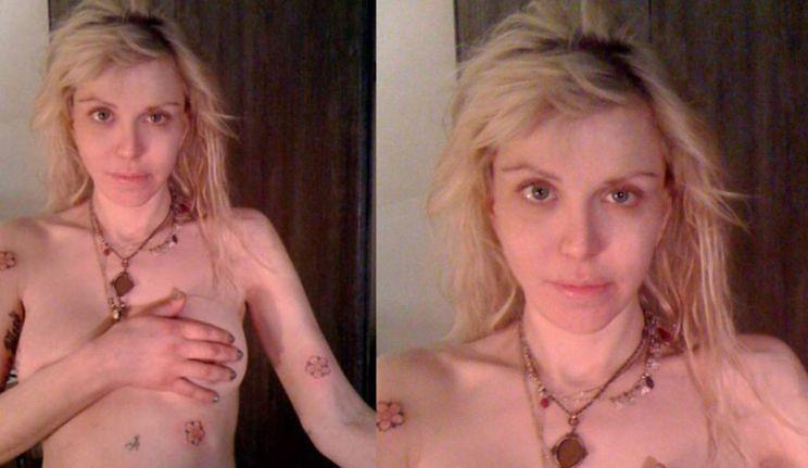 Nowe tatuaże Courtney Love!