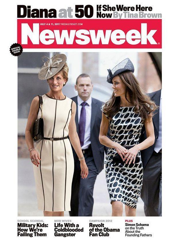 Diana na okładce z Kate Middleton! (PRZESADA?)
