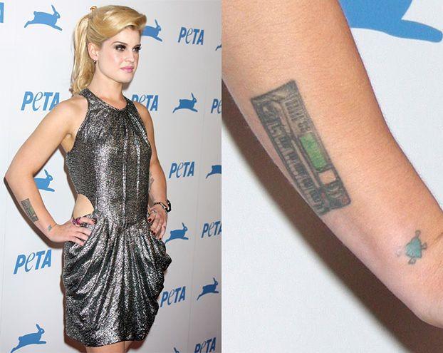 Kelly Osbourne usuwa tatuaże!