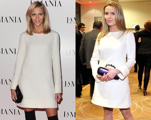 Rubik i Lis w identycznych sukienkach?