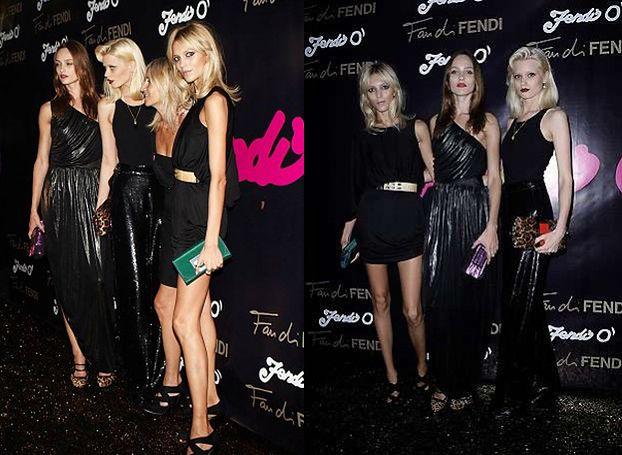 Anja Rubik na imprezie Karla Lagerfelda! (ZDJĘCIA)