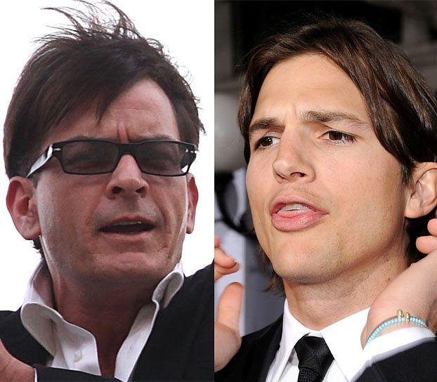 """Ashton Kutcher zastąpi Sheena w """"Dwóch i pół""""!"""