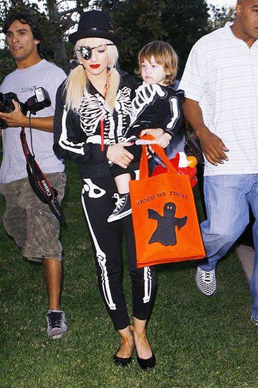 Aguilera zabrała syna na nocą imprezę!