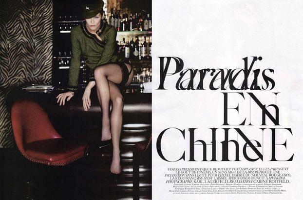 """Piękna Vanessa Paradis w """"Vogue'u""""! WIECIE, ILE MA LAT?"""