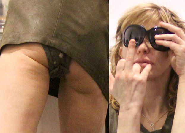 Courtney Love pokazała pośladki! (FOTO)