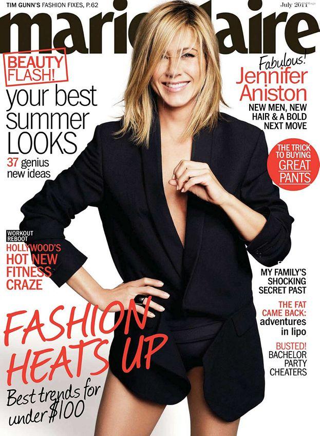 Aniston bez spodni! (ZDJĘCIA)