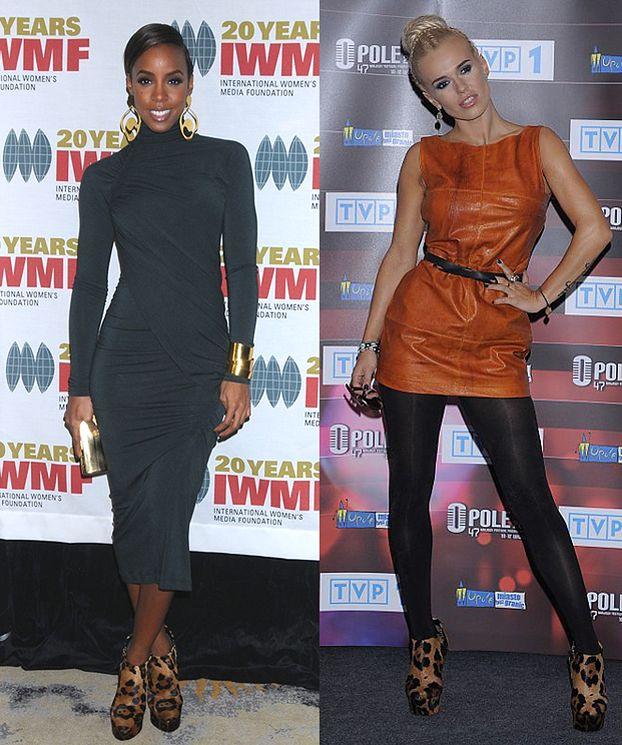 Doda i Kelly Rowland w takich samych butach (FOTO)