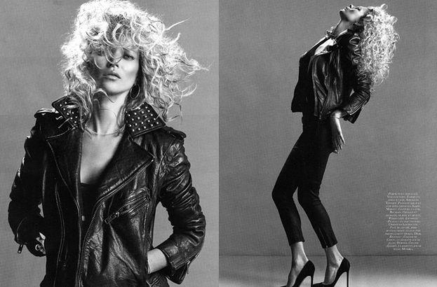 Kate Moss W KRĘCONYCH WŁOSACH!