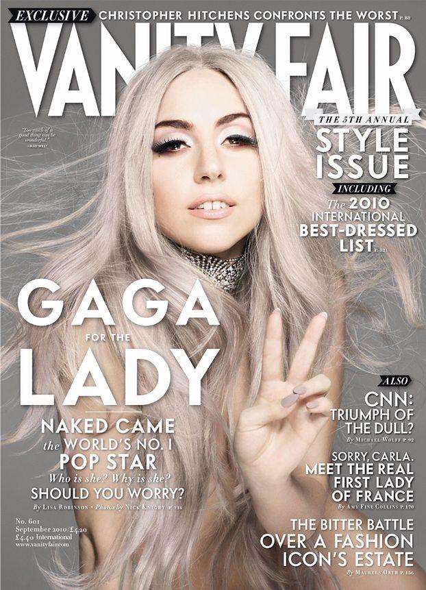 "Retusz tygodnia: GaGa w ""Vanity Fair""!"